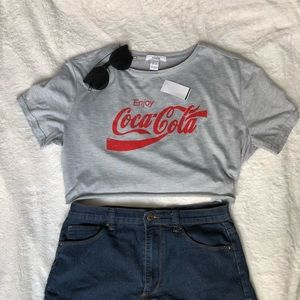 CocaCola cropped tee